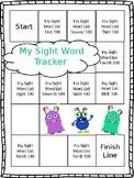 Fry Sight Word Tracker