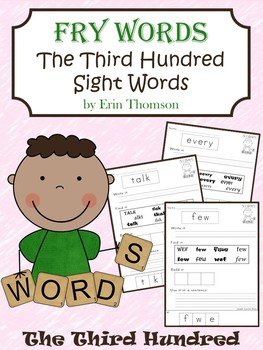 Fry Sight Word Worksheets ~ The Third Hundred
