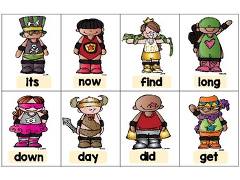 Fry Sight Words (1-100)