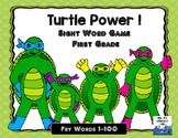 Fry Sight Words: 1-100 (Turtles)