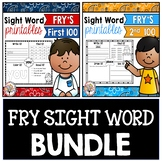Fry Sight Words 1-200