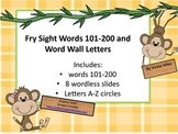 Fry Sight Words 101-200:  Monkeys in the Jungle