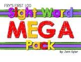 Fry Sight Words 1st 100 MEGA Pack