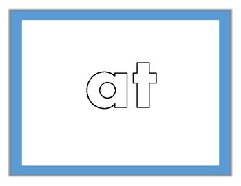 Fry Sight Words #21-40 Kinesthetic Mats (Set 2)