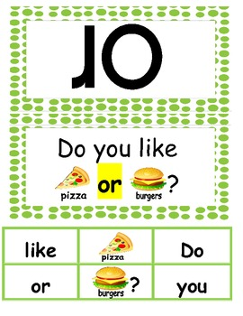 Fry Sight Words 26-50 Word and Sentence Cards