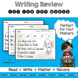 Fry Sight Words Activities Writing Review