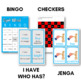 Fry Sight Words Bingo - Seventh Hundred in Color or B&W