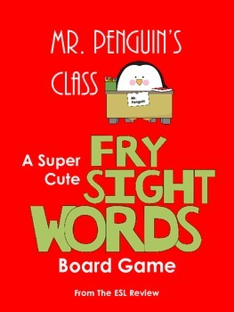 Fry Sight Words Board Game - Mr. Penguin's Class