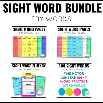 Fry Sight Words Bundle