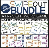 Fry Sight Words Center (Swipeout Fifth 100 Bundle)