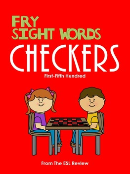 Fry Sight Words Checkers (1st~5th Hundred)