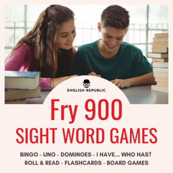 Fry Sight Words Checkers (6th~10th Hundred)