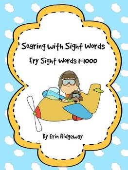 Fry Sight Words Checklist-1000 High Frequency Words
