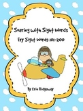 Fry Sight Words Checklist-Second 100 Words