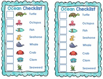 Fry's First 200 Sight Words Game AND Word Cards {Ocean Themed}