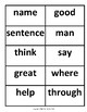 Fry Sight Words Flashcards 101-200