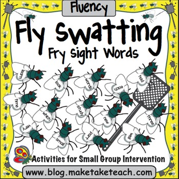 Fry Sight Words- Fly Swatting Sight Words