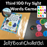 Fry Sight Words Game - 3rd 100 - Jelly Bean Challenge