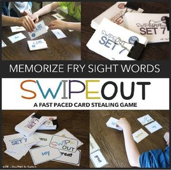 Fry Sight Words Center (Swipeout All 500 Mega Bundle)
