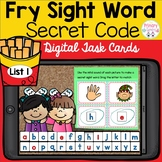 Fry Sight Words List 1 Boom Cards Mystery Word