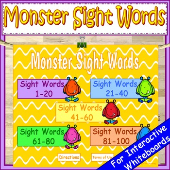 halloween fry sight words kindergarten powerpoint game by early core