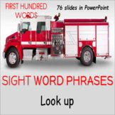 Sight Words PowerPoint Reading Intervention