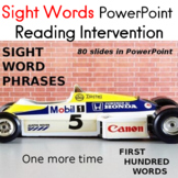 Fry Sight Words Powerpoint Reading Intervention