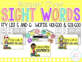 Fry Sight Words 401-600