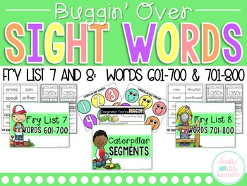 Fry Sight Words 601-800