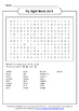 Fry Sight Words Word Search Jumbo Packet Bundle - All 1,00