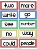 Fry Sight Words / Word Wall Cards in Primary Colors {300 Words}