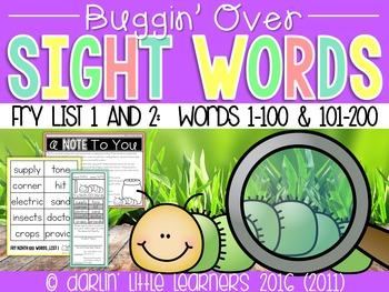Fry Sight Words 201-400