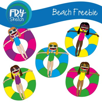 Fry Sketch - Beach Freebie