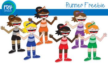 Fry Sketch - Runner - Freebie