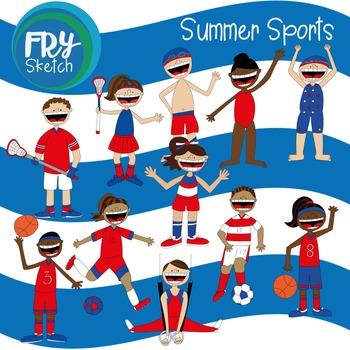 Fry Sketch - Summer Sports