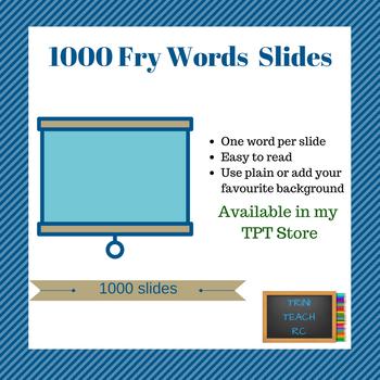 Fry Slides