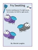 Fry Swatting: Sight words Center
