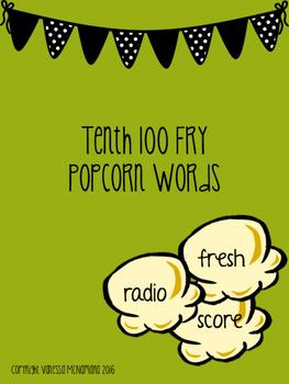 Fry Tenth 100 Popcorn Words