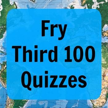 Fry Third 100 Quizzes (ESL)
