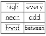 Fry Third 100 Word Wall Words