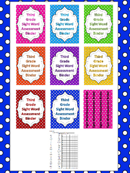 Fry 3rd Grade High Frequency Words Sight Word Assessment Tracking System