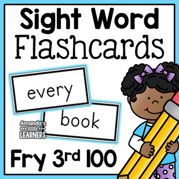Fry Third Hundred Sight Word Flash Cards