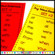 Fry Words #1-200 Sight Word Bookmarks