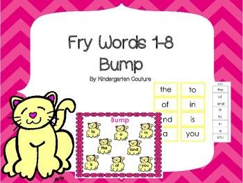 Fry Word 1-8 Bump