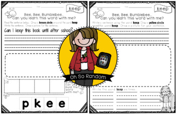 Fry Word Activity Sheets {Third Hundred Words - List 1} {Click File, Print}