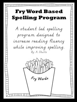 Fry Word Based Spelling Program