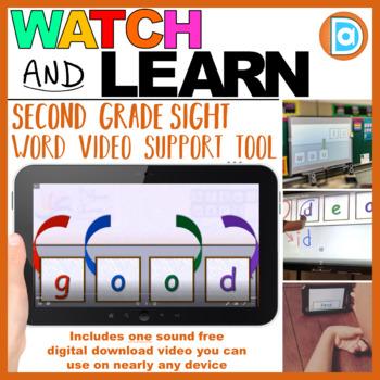 RTI | Second Grade Sight Word Fluency Tool | Good