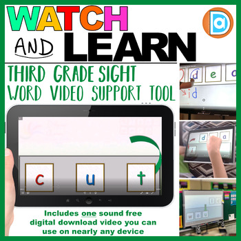 Fry Word Builder | Video | 3rd Grade | Cut