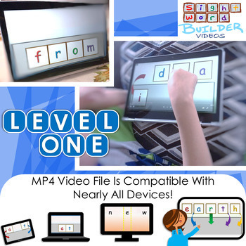 Fry Word Builder | Video | Kindergarten and 1st Grade | In