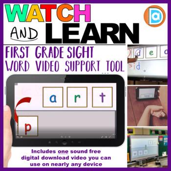 RTI   Kindergarten & First Grade Sight Word Fluency Tool   Part